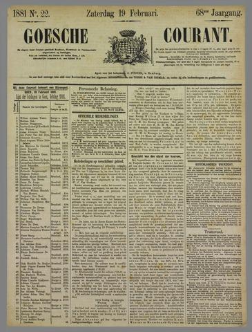 Goessche Courant 1881-02-19