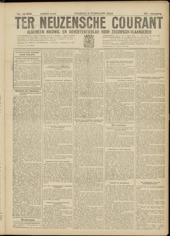 Ter Neuzensche Courant. Algemeen Nieuws- en Advertentieblad voor Zeeuwsch-Vlaanderen / Neuzensche Courant ... (idem) / (Algemeen) nieuws en advertentieblad voor Zeeuwsch-Vlaanderen 1942-02-06