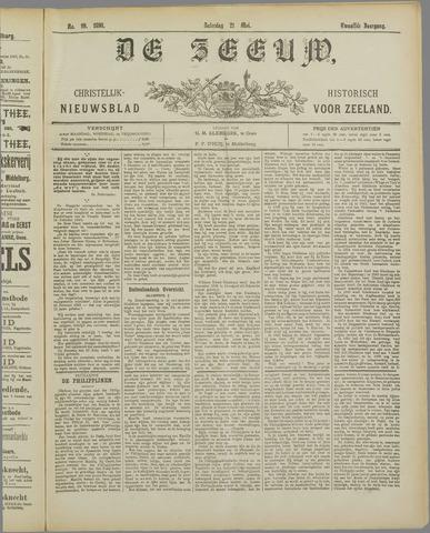 De Zeeuw. Christelijk-historisch nieuwsblad voor Zeeland 1898-05-21