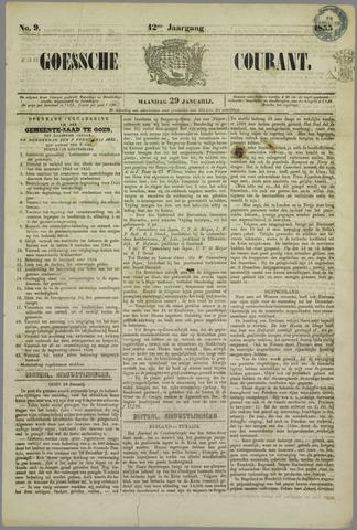 Goessche Courant 1855-01-29