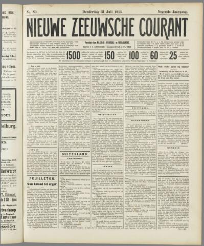 Nieuwe Zeeuwsche Courant 1913-07-31