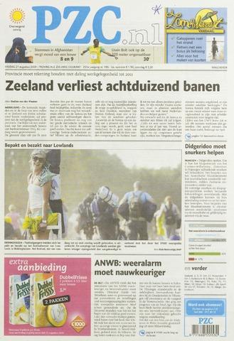 Provinciale Zeeuwse Courant 2009-08-21