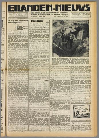 Eilanden-nieuws. Christelijk streekblad op gereformeerde grondslag 1949-04-02