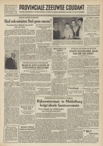 Provinciale Zeeuwse Courant 1952-08-27