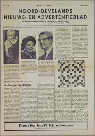 Noord-Bevelands Nieuws- en advertentieblad 1969-04-26