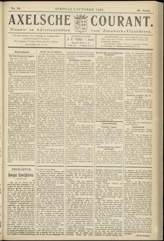 Axelsche Courant 1926-10-05