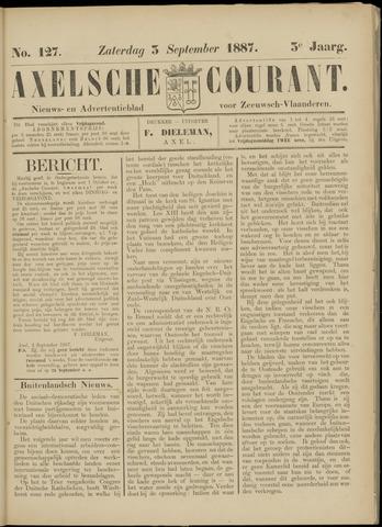 Axelsche Courant 1887-09-03