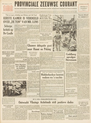 Provinciale Zeeuwse Courant 1965-07-21