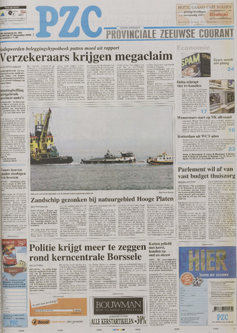 Provinciale Zeeuwse Courant 2006-12-21