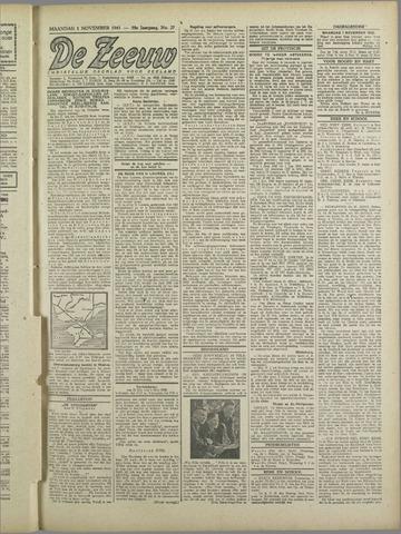 De Zeeuw. Christelijk-historisch nieuwsblad voor Zeeland 1943-11-01