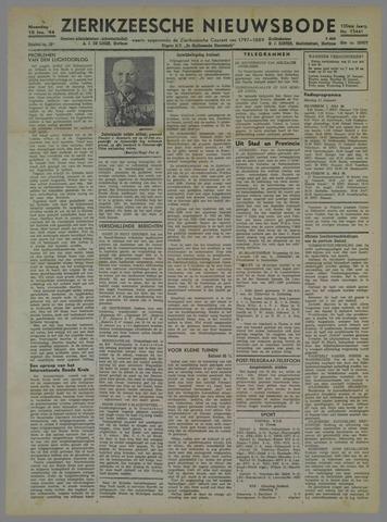 Zierikzeesche Nieuwsbode 1944-01-10