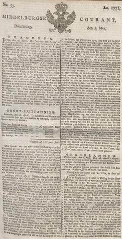 Middelburgsche Courant 1771-05-02