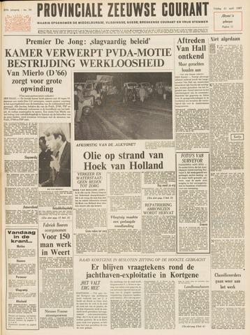 Provinciale Zeeuwse Courant 1967-04-21