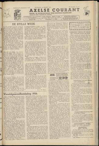 Axelsche Courant 1956-03-31