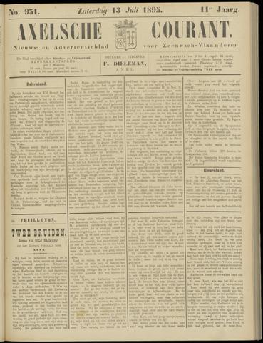Axelsche Courant 1895-07-13