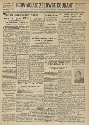 Provinciale Zeeuwse Courant 1950-01-02