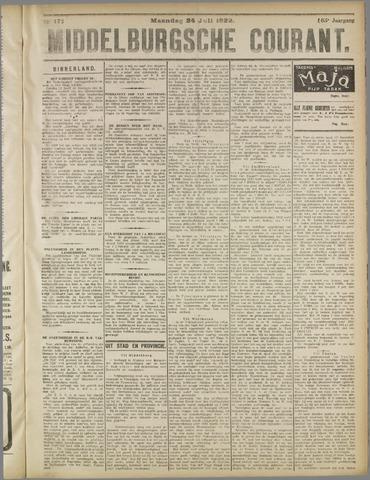 Middelburgsche Courant 1922-07-24