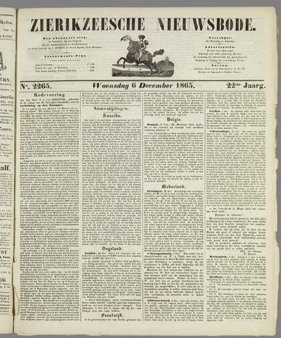 Zierikzeesche Nieuwsbode 1865-12-06