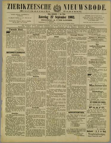 Zierikzeesche Nieuwsbode 1902-09-27