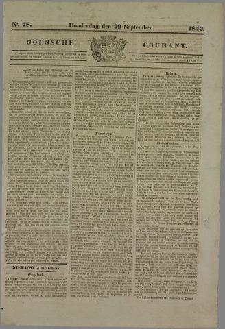 Goessche Courant 1842-09-29
