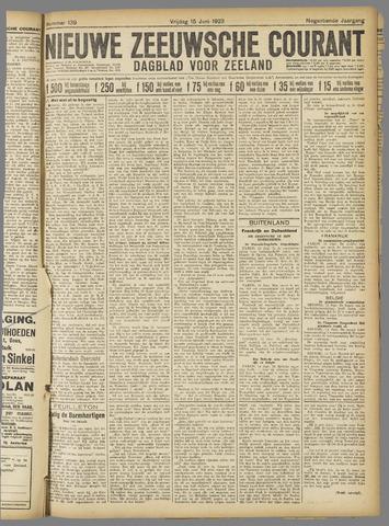 Nieuwe Zeeuwsche Courant 1923-06-15
