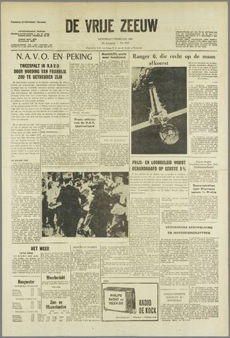 de Vrije Zeeuw 1964-02-01