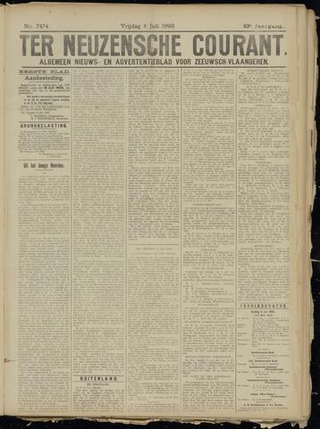Ter Neuzensche Courant. Algemeen Nieuws- en Advertentieblad voor Zeeuwsch-Vlaanderen / Neuzensche Courant ... (idem) / (Algemeen) nieuws en advertentieblad voor Zeeuwsch-Vlaanderen 1923-07-06
