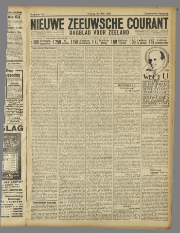 Nieuwe Zeeuwsche Courant 1921-05-20