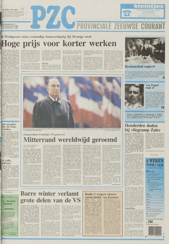 Provinciale Zeeuwse Courant 1996-01-09