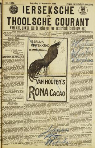 Ierseksche en Thoolsche Courant 1912-11-09