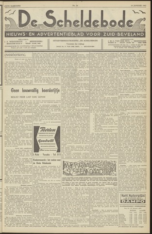 Scheldebode 1962-01-19