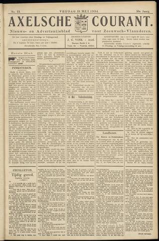 Axelsche Courant 1934-05-18
