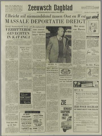Zeeuwsch Dagblad 1961-09-16