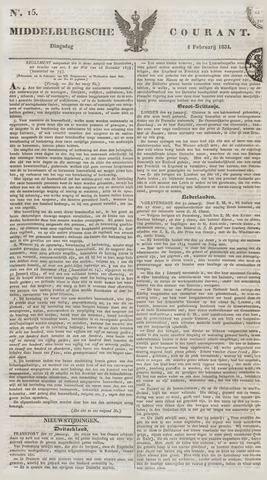 Middelburgsche Courant 1834-02-04
