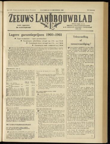 Zeeuwsch landbouwblad ... ZLM land- en tuinbouwblad 1960-10-29