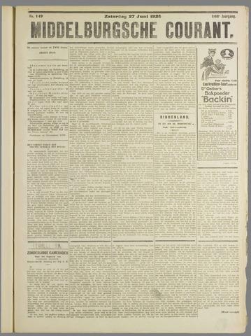 Middelburgsche Courant 1925-06-27
