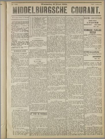 Middelburgsche Courant 1922-06-21