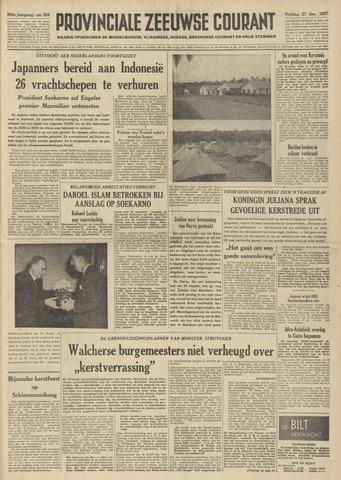 Provinciale Zeeuwse Courant 1957-12-27