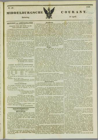 Middelburgsche Courant 1846-04-18