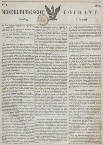 Middelburgsche Courant 1867-01-01