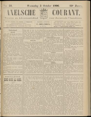 Axelsche Courant 1906-10-03