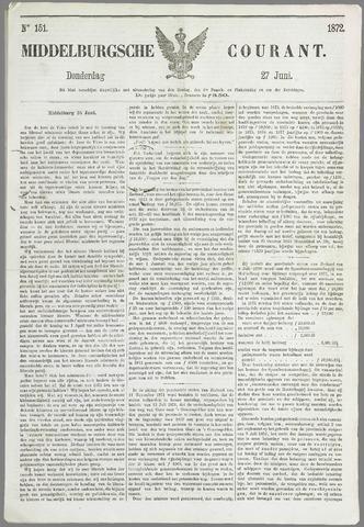 Middelburgsche Courant 1872-06-27