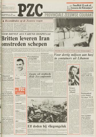 Provinciale Zeeuwse Courant 1984-08-20
