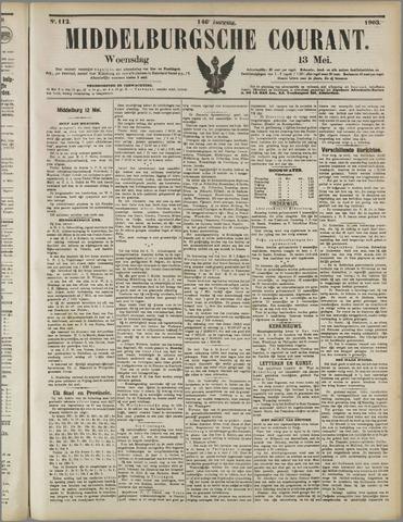 Middelburgsche Courant 1903-05-13