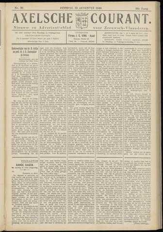 Axelsche Courant 1940-08-13