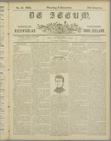 De Zeeuw. Christelijk-historisch nieuwsblad voor Zeeland 1905-12-11