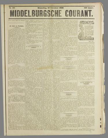 Middelburgsche Courant 1925-10-12