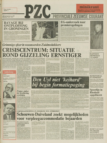 Provinciale Zeeuwse Courant 1977-06-07