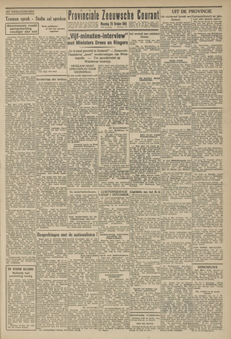 Provinciale Zeeuwse Courant 1945-10-29
