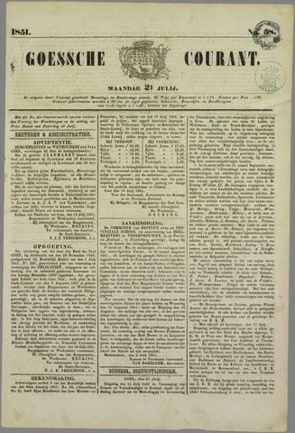 Goessche Courant 1851-07-21